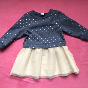 Old Navy holiday dress 6-12 mos